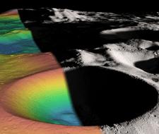 Encuentran indicios de más agua en la Luna