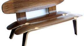 Muebles realizados con tablas de patinar