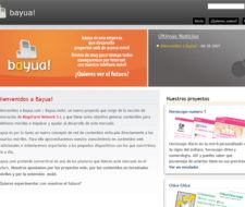bayua!, la red de proyectos para moviles de Blogsfarm