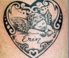 Tatuajes de querubines