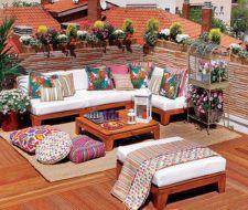 Ideas decorativas para las terrazas