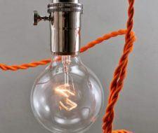 Las lámparas eléctricas