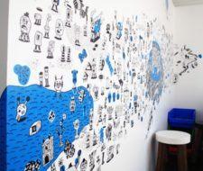 Escribir y decorar paredes con tu propio arte