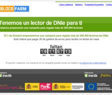 Lector DNI Electrónico Gratis con Blogsfarm