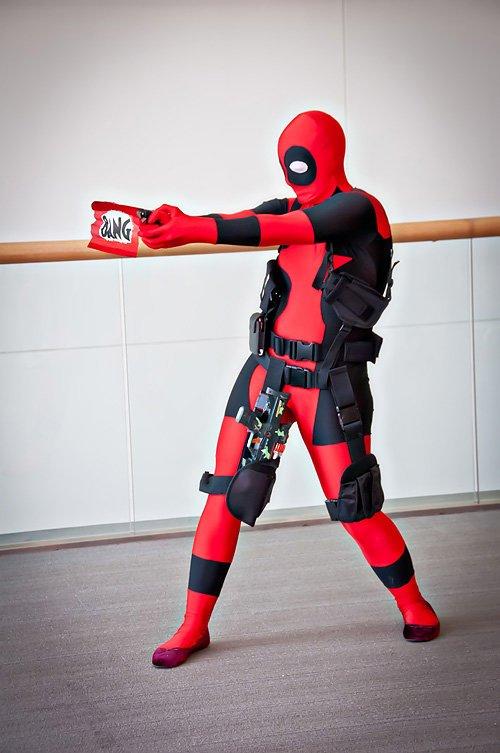 Como Disfrazarse De Deadpool Halloween 2019 Tendenziascom - Como-hacer-un-disfraz-casero