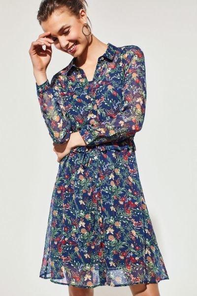 cortefiel-vestidos-camisero-gasa-floral