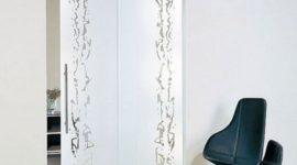 Puertas de cristal con novedosos diseños