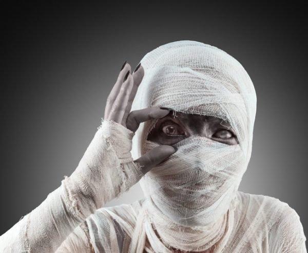 Disfraz de la momia the mummy otras momias de cerca