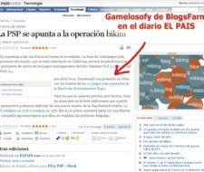 Gamelosofy de BlogsFarm en el diario El Pais