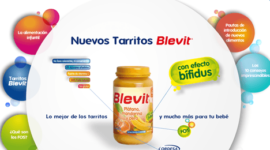 Nuevos tarritos Blevit   efecto bífidus