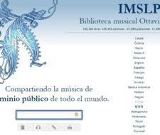 Partituras gratis en IMSLP
