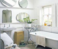Muebles vintage para el baño