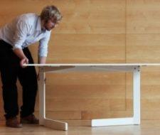 Os presentamos la mesa plegable de Ola