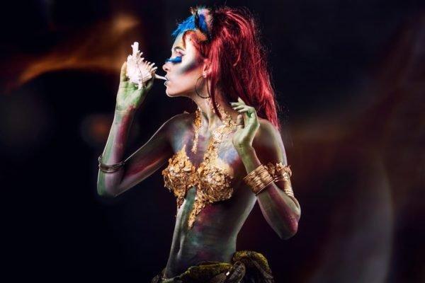 Pintura para cara cuerpo colores y fotos maquillaje cuerpo