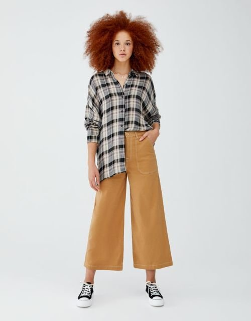 pull-and-bear-catalogo-camisa-cuadros-oversize
