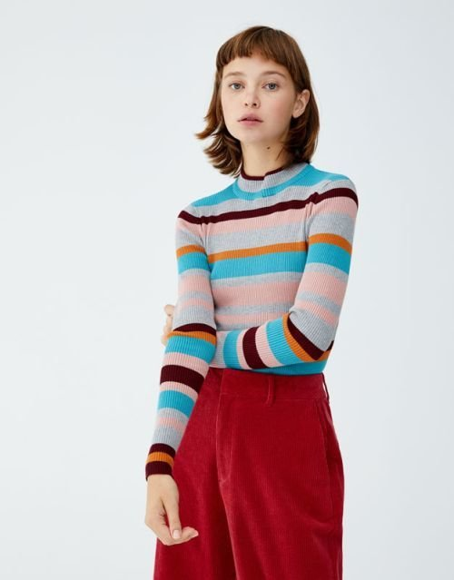 pull-and-bear-catalogo-jersey-cuello-perkins-canale
