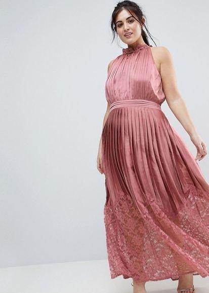 f7dcd3ae7d En Asos puedes encontrar muchos vestidos de fiesta con encaje para gorditas