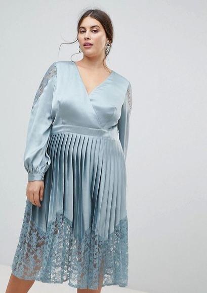 Vestidos tipo coctel 2019 para gorditas