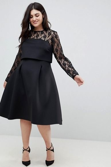 Vestidos De Fiesta Para Gorditas Otoño Invierno 2019 2020