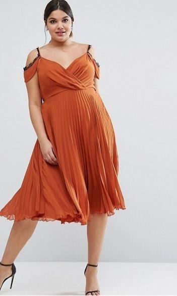 Vestidos de fiesta para senoras gorditas 2019