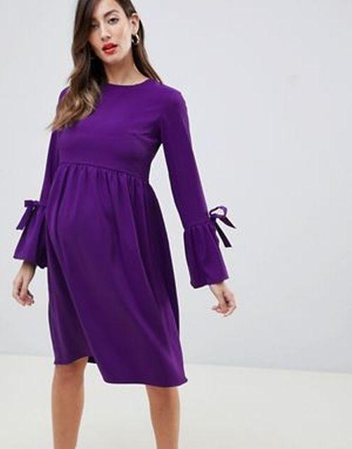 vestidos-de-fiesta-premama-skater-violeta-queen-bee-asos