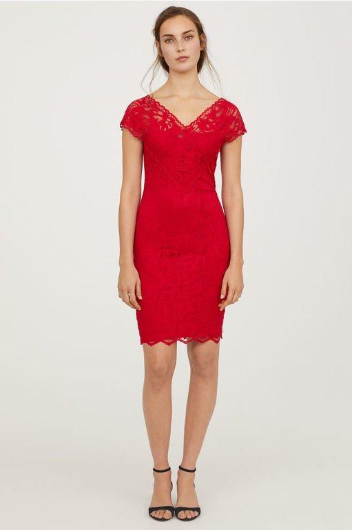 vestidos-de-fiesta-rojos-cortos-encaje-escote-v-hym