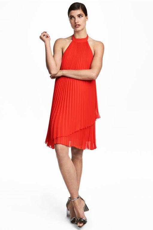 vestidos-de-fiesta-rojos-cortos-halter-gasa-hym