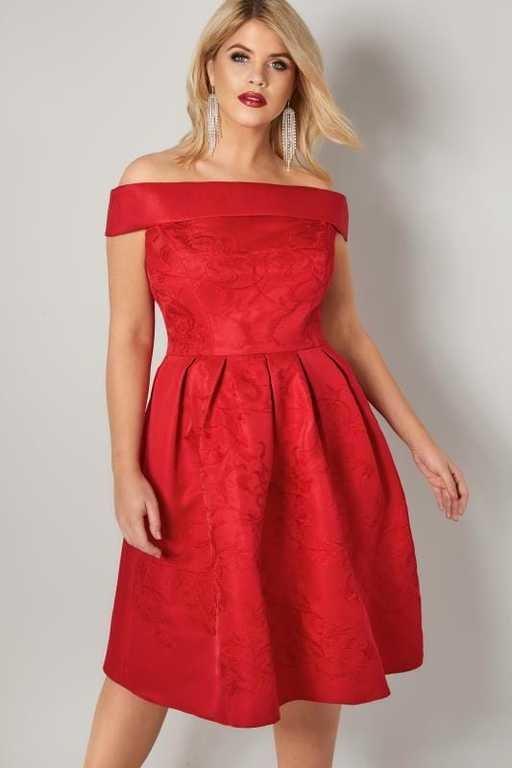 vestidos-gorditas-boda-chi-chi-rojo-bordado-palabra-de-honor-yoursclothing.jpg