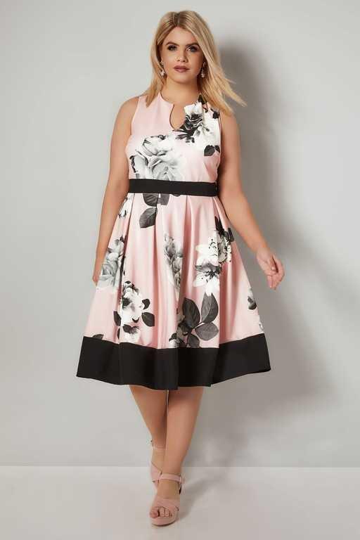 vestidos-gorditas-boda-rosa-patinadora-flores-yoursclothing.jpg