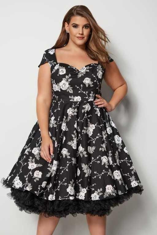 vestidos-gorditas-noche-hellbunny-vestido-negro-flores-blancas-yoursclothing