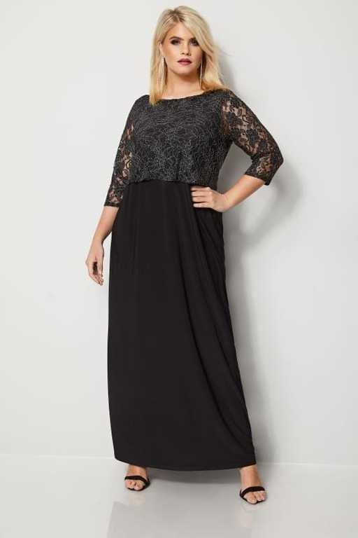 vestidos-gorditas-noche-yours-london-vestido-largo-negro-metalico