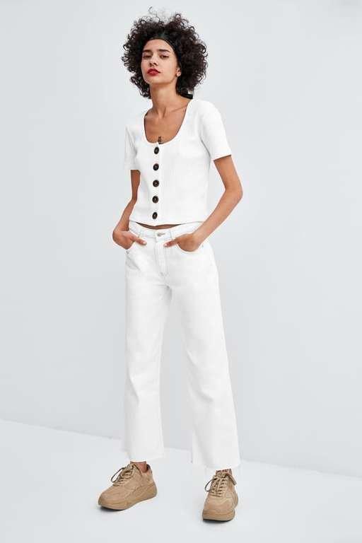 zara-camisetas-blancos-botones
