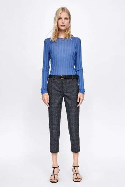 54d0f25fa6 Catálogo de pantalones de Zara para mujer Primavera Verano 2019 ...