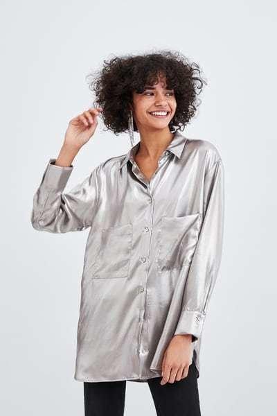 zara-premama-camisa-color-metalico