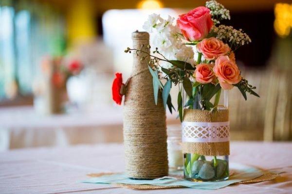 Como hacer un ramo de flores casero para san valentin con botellas