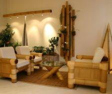 Decoracion bambú