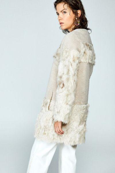 Chaqueta de mujer Sfera blanca con flecos en 2019
