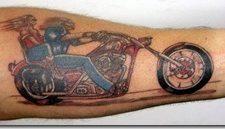 Tatuajes de motos, un eterno clásico