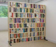 Separa ambientes con tus libros