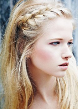 Peinados De Trenzas De Raiz De Lado Peinados Modernos