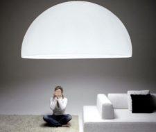 Os presentamos las lámparas de techo gigantes