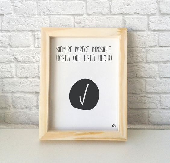 Ideas de decoraci n con cuadros de frases de motivaci n for Ideas lindas para decorar la casa