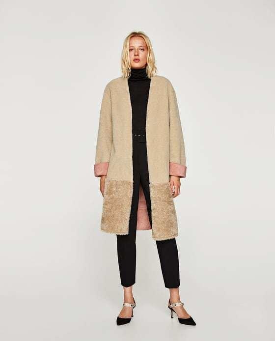 Chaquetas y abrigos de zara