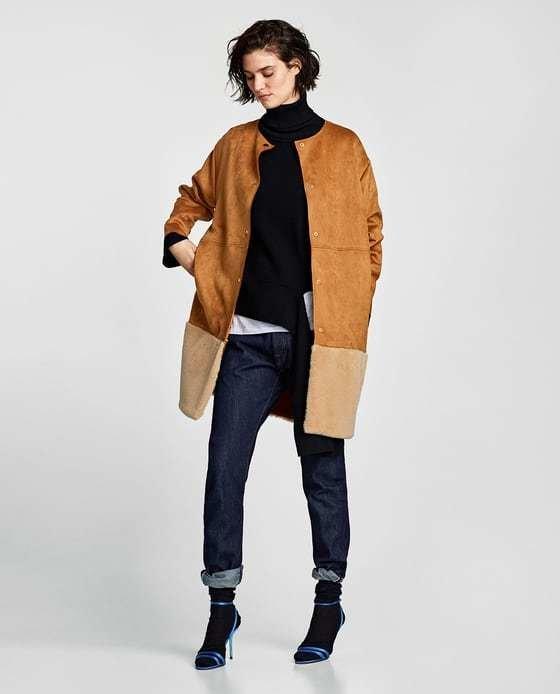 Moda abrigos zara