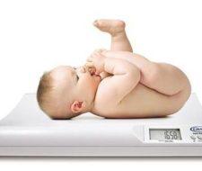 Tabla de peso de bebes