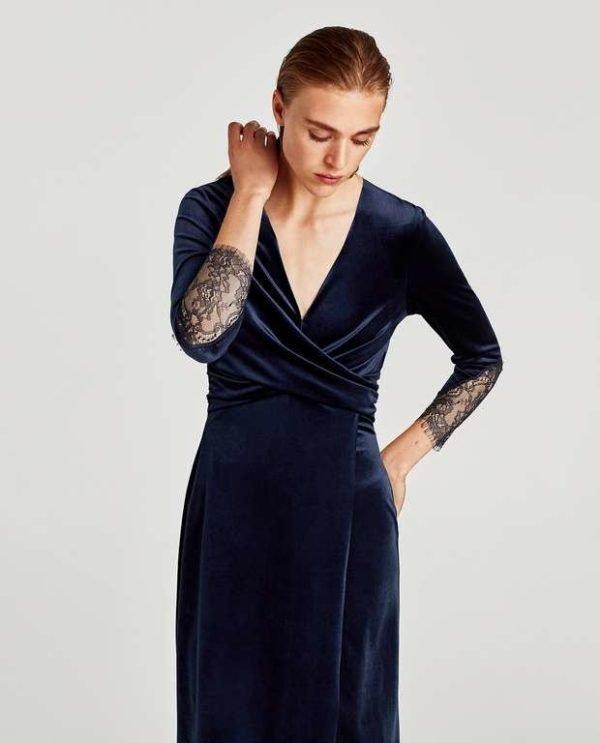 10 Ideas de Vestidos Azules cortos y largos de fiesta 2020