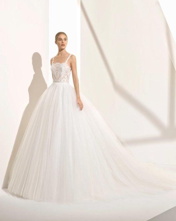 vestidos de novia de princesa 2019 - tendenzias