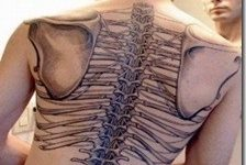 Tatuajes de huesos