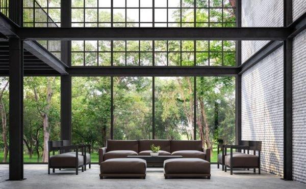 Como decorar un loft moderno luz natural