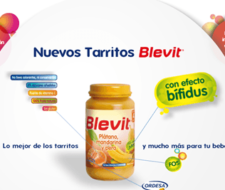 Nuevos tarritos Blevit | efecto bífidus
